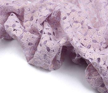 Lace glitter minta Lilac