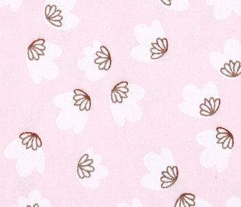 100% Cotton Washed Lamba  Light Pink