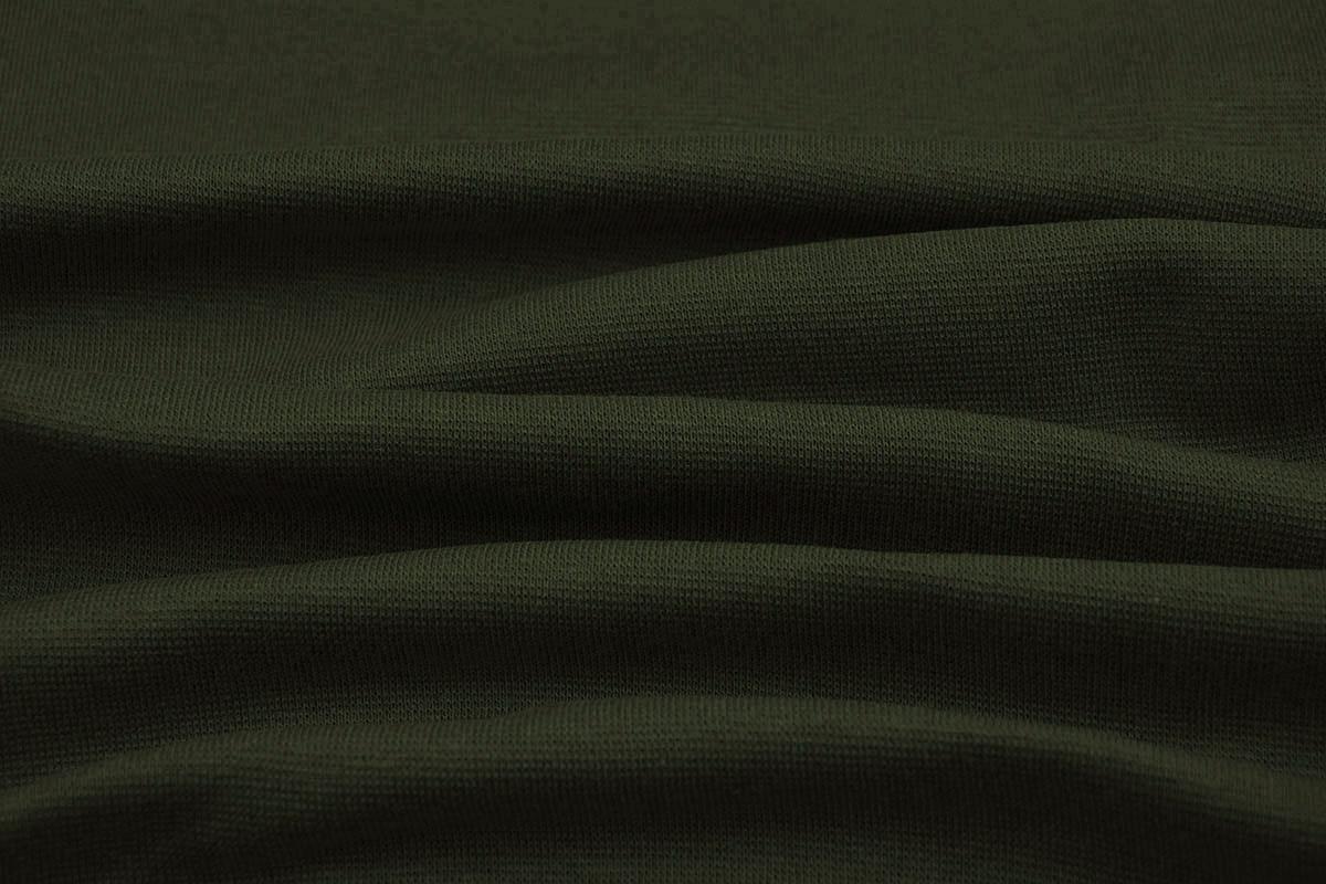 Bündchenstoff Army Grün