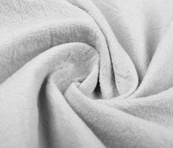 100% Gewaschene Baumwolle Hellgrau