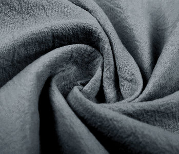 100% Washed Cotton Grey