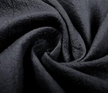 100% Washed Cotton Dark Grey