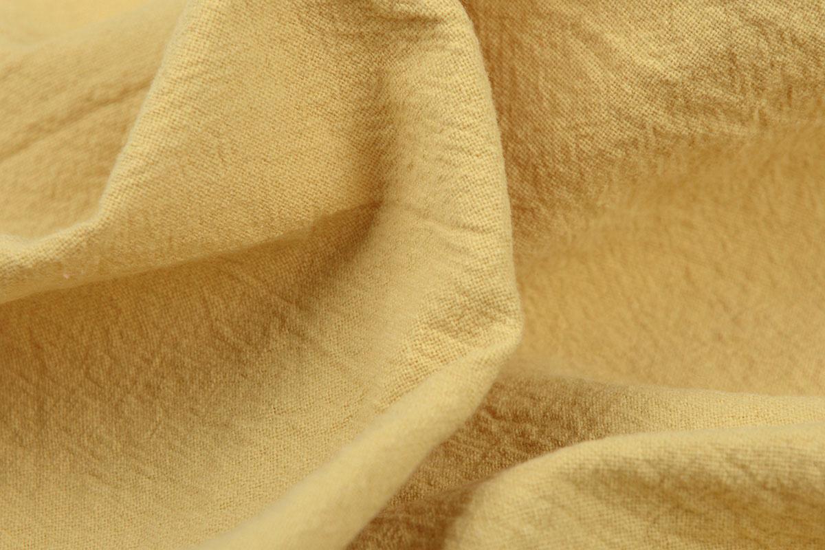 100% Gewaschene Baumwolle Hellocker