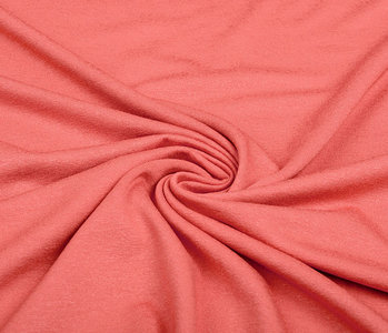 Viscose Jersey Coral Red