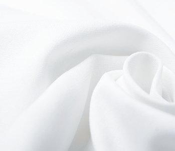 100% Baumwolle Weiß