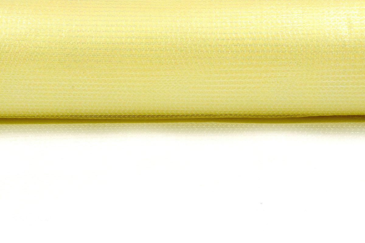 Lurex auf Tüll Brilo Zitronengelb
