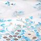 Mesh Geborduurd Lilled Baby Blauw
