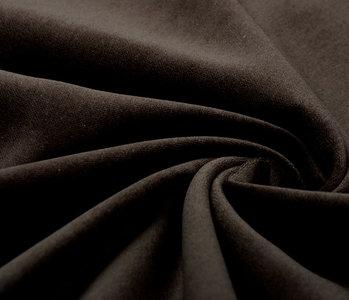Cotton Velvet Fabric Donn Dark brown