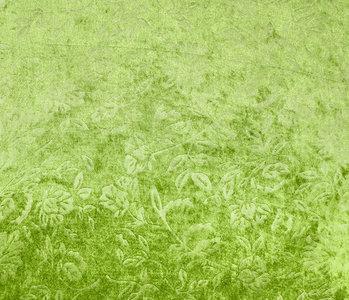 Velours de Panne Kukka Donker Lime