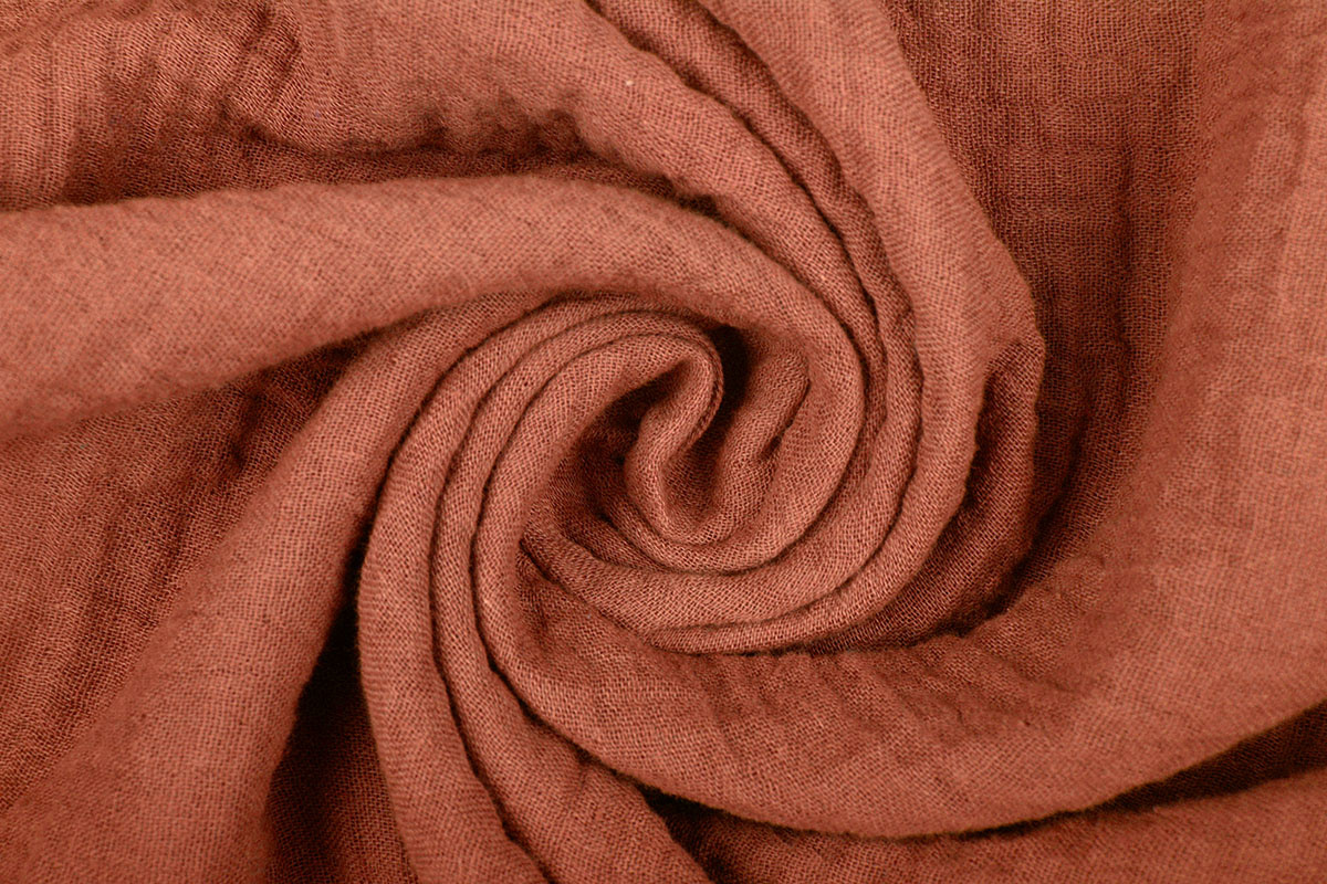 Hydrofiel stof Oranje Brique