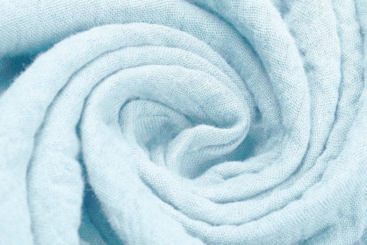 Hydrofiel Stof Baby Blauw
