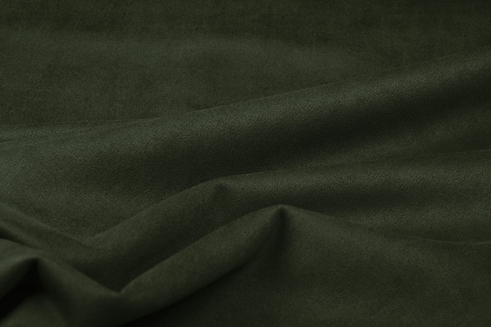Leichtes Tauchen Wildleder Armeegrün