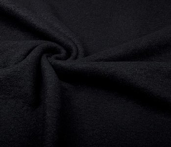 Knitted Woolen fabric Black