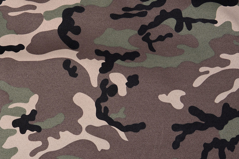 Army Polyester Katoen Bruin-groen