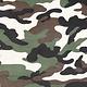 Army Polyester Baumwolle Dunkel Braun-Grün