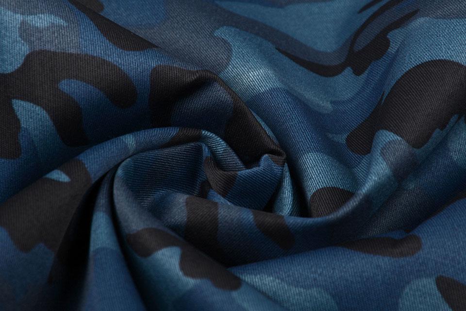 Armee Polyester Baumwolle Politie Blau