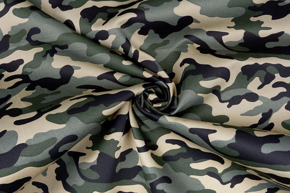 Army Polyester Katoen Oud Groen