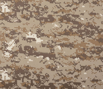 Army Polyester Cotton Craft Brown