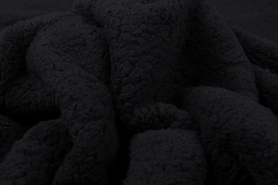 Curly Teddy Black