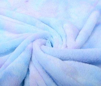 Short Hairy fur multi color Blue Purple