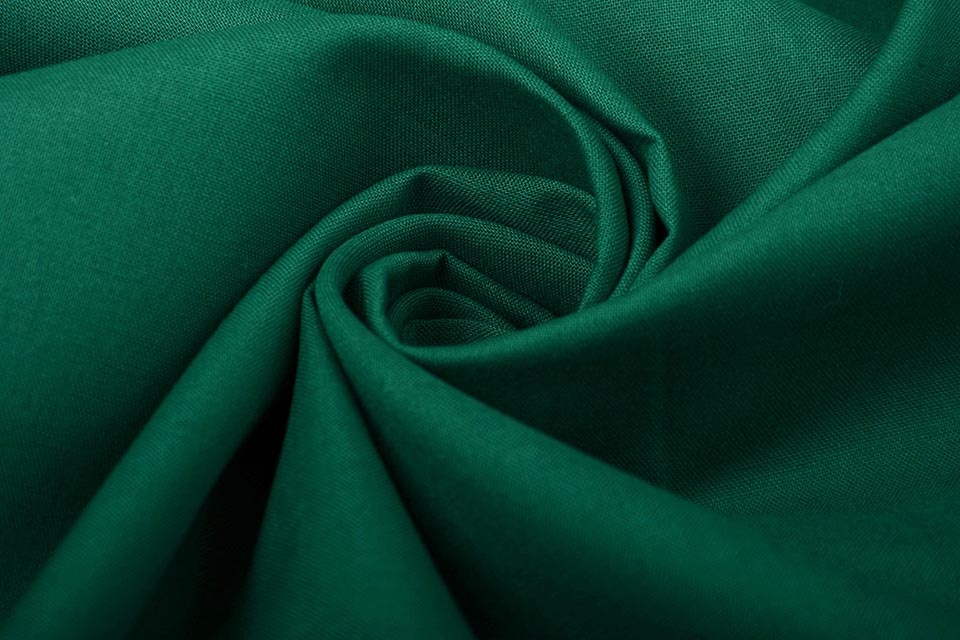 100% Cotton Dark Green