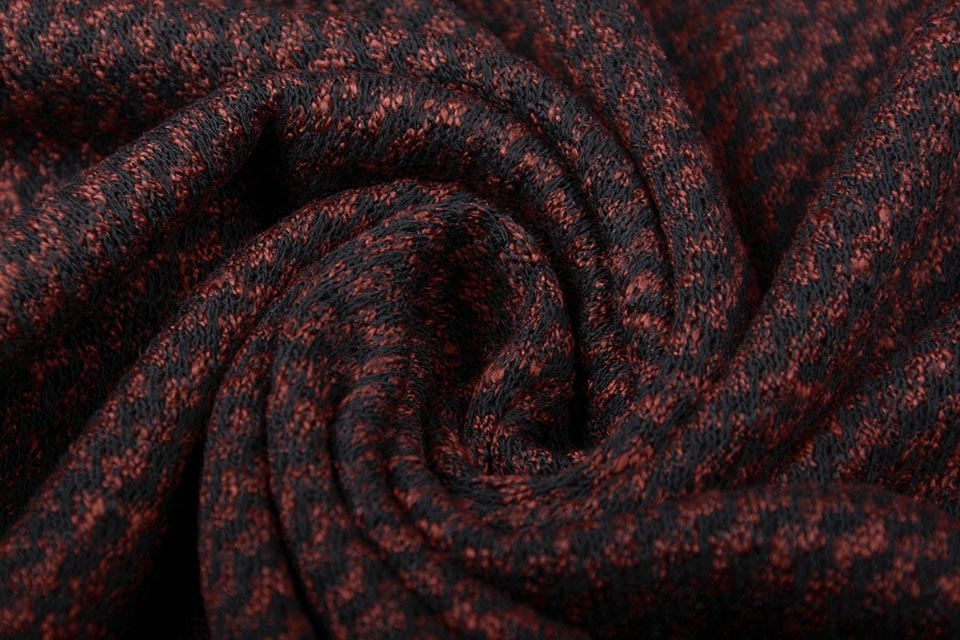Jersey Sahara Zwart/Rood