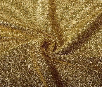 Knitted Glitter Metallic Goud