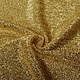 Knitted Glitter Metallic Goud