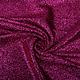 Knitted Glitter Metallic Fuchsia