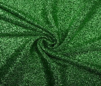 Knitted Glitter Metallic Grasgroen