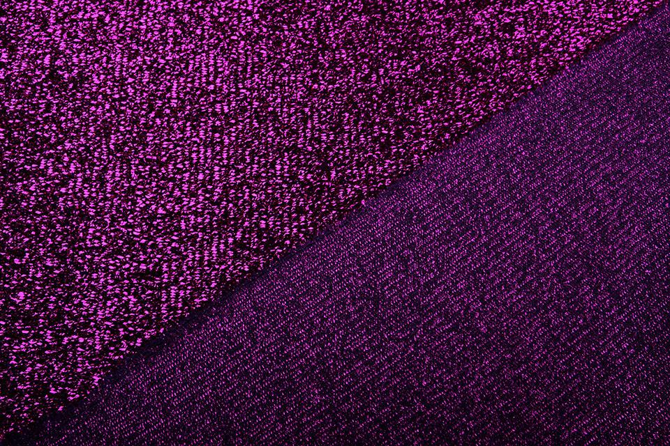 Knitted Glitter Metallic Cyclaam