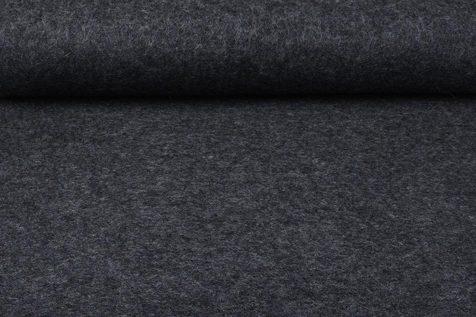 Gekochte Wolle Grau