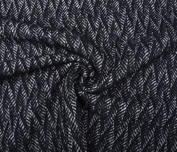 Woven Woolen Fabric ZigZag