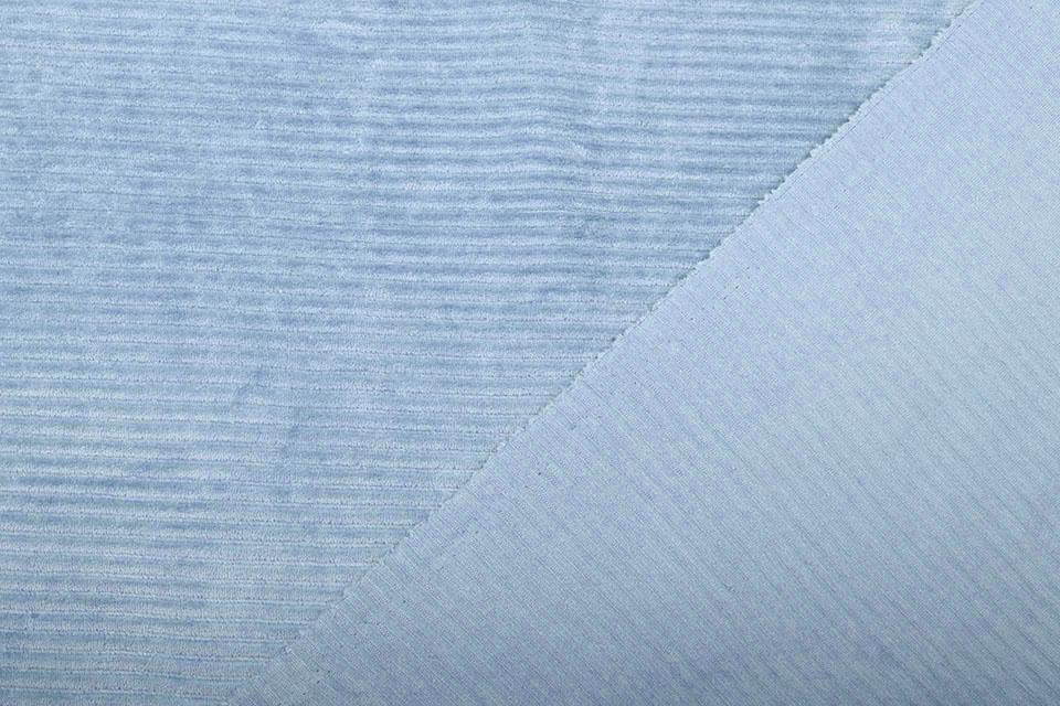 Baumwolle Cordstoff Breit Babyblau