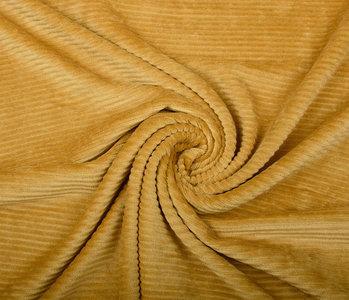 Cotton Knit Big Corduroy Ocher