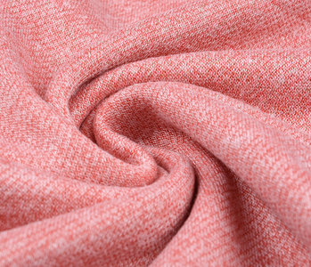 French Terry Sweat Fabric Coral Melange
