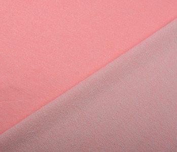 French Terry Sweatstof Fluor Roze Melange