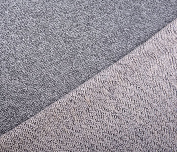 French Terry Sweat Fabric Gray Melange