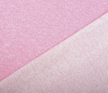 French Terry Sweat Fabric Pink Melange