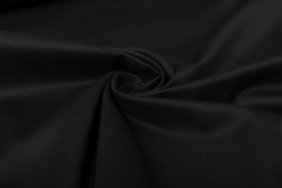 Stretch Katoen Zwart