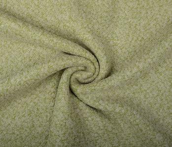 Knitted Woolen Fabric Lanoso Mossgreen
