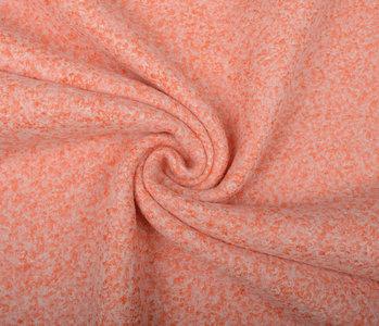 Knitted Woolen Fabric Lanoso Orange