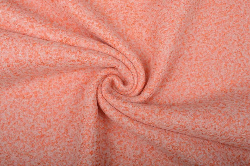Gebreide Wollen Stof Lanoso Oranje