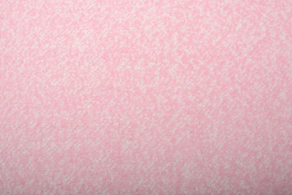 Gebreide Wollen Stof Lanoso Licht Roze