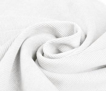 16 W Corduroy White
