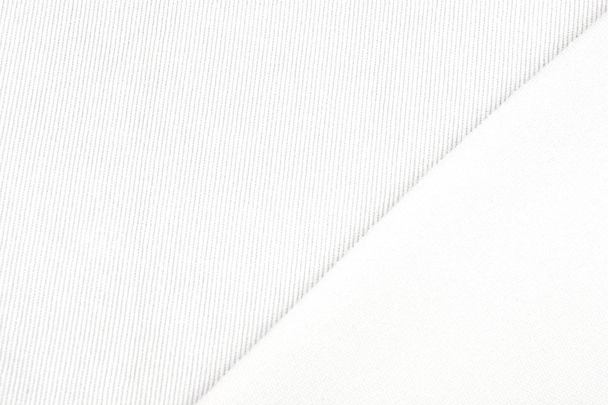 16 W Cordstoff Weiß