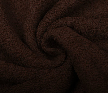 Oeko-Tex®  Badstof Donker bruin
