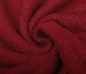 Oeko-Tex®  Terry Cloth Red