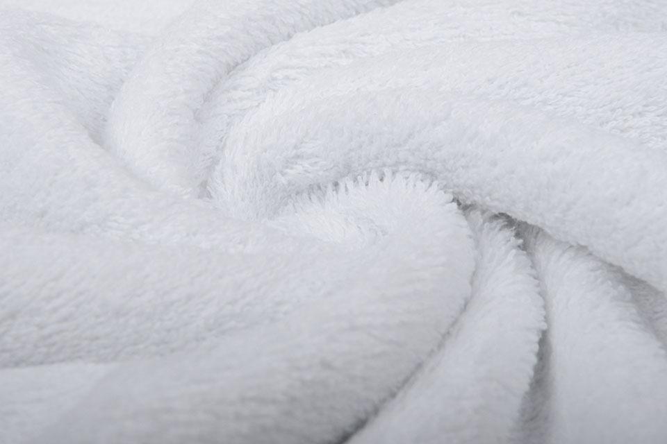 Oeko-Tex®  Frottee Weiß