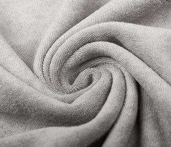 Oeko-Tex®  Stretch Terry Cloth Silver